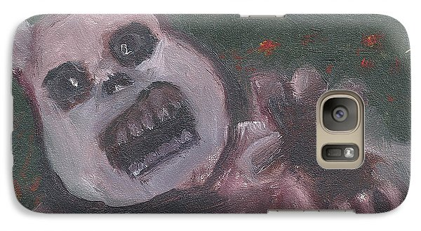 Galaxy Case featuring the painting Look At The Flowers Poppy by Jessmyne Stephenson
