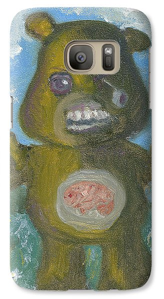 Galaxy Case featuring the painting Look At The Flowers Walker by Jessmyne Stephenson