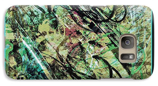 Galaxy Case featuring the digital art Look For The Eye by Barbara MacPhail