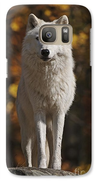 Galaxy Case featuring the photograph Look Out by Wolves Only