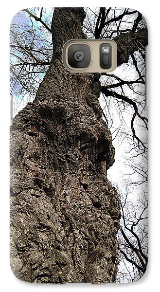 Galaxy Case featuring the photograph Look Up Look Way Up by Nina Silver