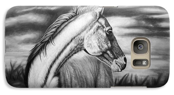 Horse Galaxy S7 Case - Looking Back by Glen Powell