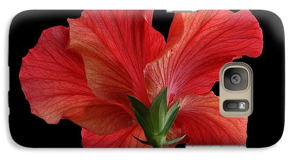 Galaxy Case featuring the photograph Looking Back by Judy Whitton