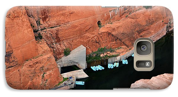 Looking Down At Glen Canyon  Galaxy S7 Case