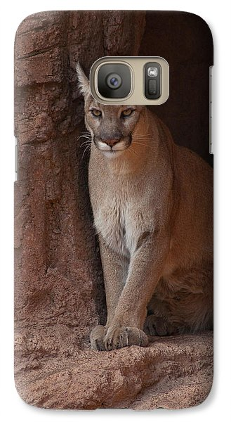 Galaxy Case featuring the photograph Looking For A Meal by Daniel Hebard