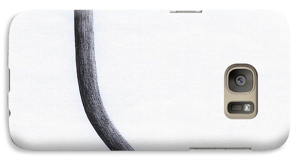 Galaxy Case featuring the drawing Looking For Fertile Land by Giuseppe Epifani