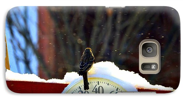 Galaxy Case featuring the photograph Looking Forward To Warmer Days by Zafer Gurel