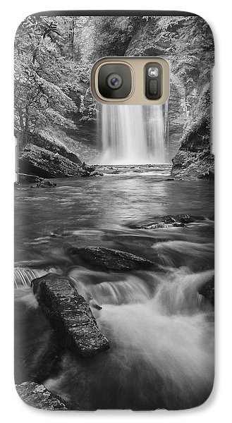 Galaxy Case featuring the photograph Looking Glass Falls by Photography  By Sai