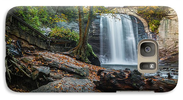 Galaxy Case featuring the photograph Looking Glass Waterfall by RC Pics