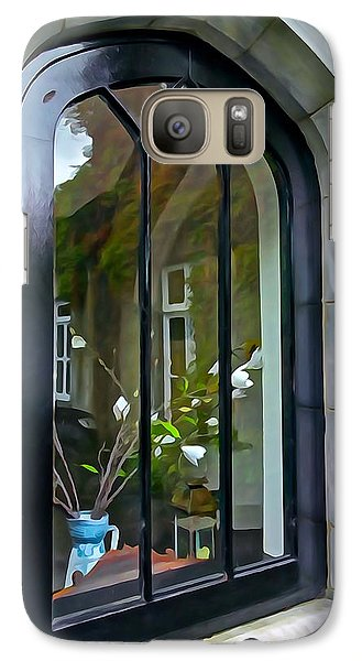 Galaxy Case featuring the photograph Looking In by Charlie and Norma Brock