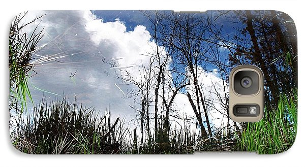 Galaxy Case featuring the photograph Looking Into The Bog by Joy Nichols