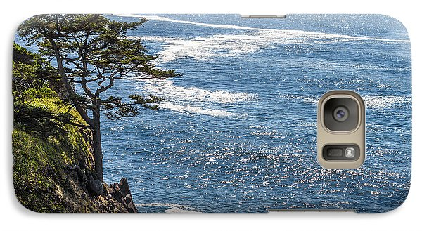 Galaxy Case featuring the photograph Looking Out by Dennis Bucklin