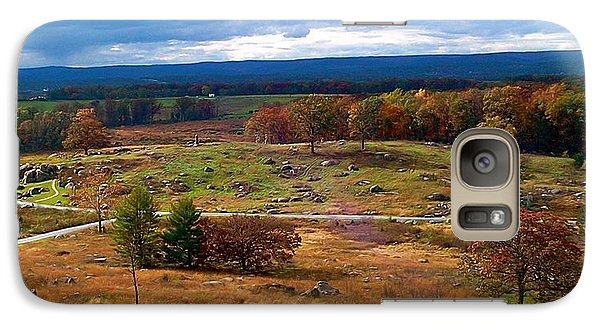 Galaxy Case featuring the photograph Looking Over The Gettysburg Battlefield by Amazing Photographs AKA Christian Wilson