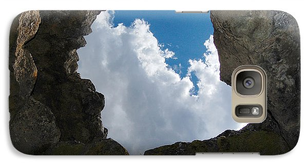 Galaxy Case featuring the photograph Looking Up by Debra Thompson