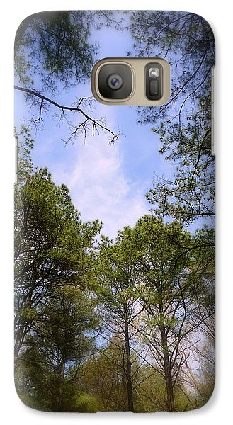 Galaxy Case featuring the photograph Looking Up by Jim Whalen