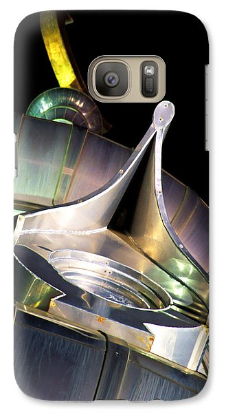 Galaxy Case featuring the photograph Looking Up On A Minaret by Daniel Woodrum