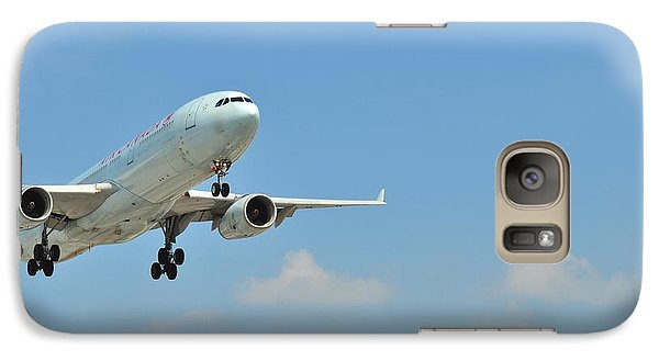 Galaxy Case featuring the photograph Looking Up  by Puzzles Shum