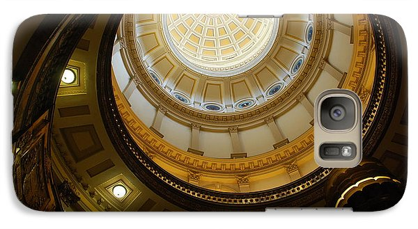 Galaxy Case featuring the photograph Looking Up The Capitol Dome - Denver by Dany Lison
