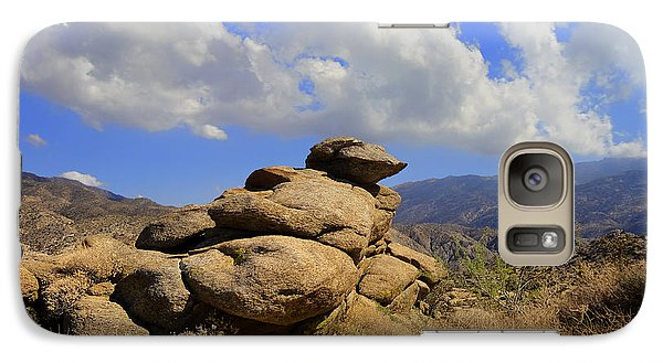 Galaxy Case featuring the photograph Lookout Rock by Michael Pickett