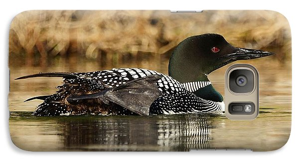 Galaxy Case featuring the photograph Loon 10 by Steven Clipperton