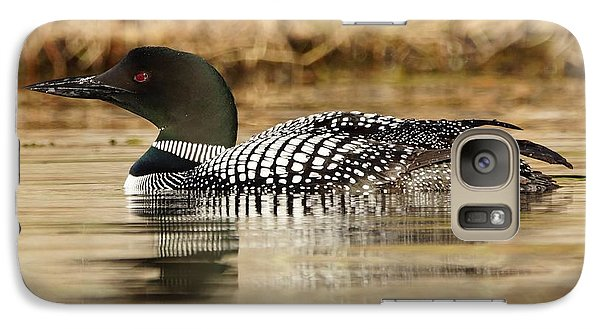 Galaxy Case featuring the photograph Loon 11 by Steven Clipperton