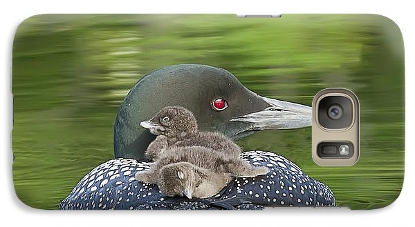 Loon Chicks -  Nap Time Galaxy S7 Case