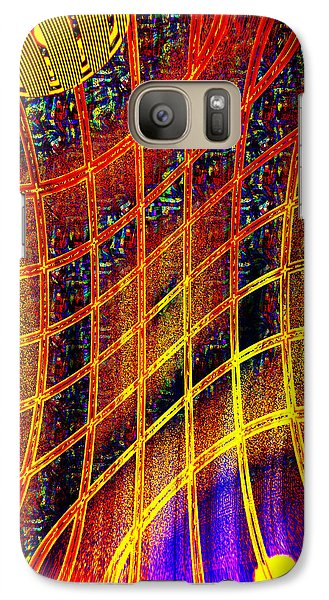 Galaxy Case featuring the photograph Loops Colors And Shapes by Kellice Swaggerty