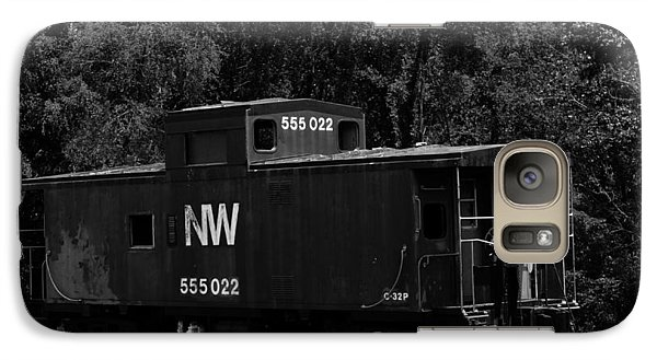 Galaxy Case featuring the photograph Loose Caboose by Cathy Shiflett
