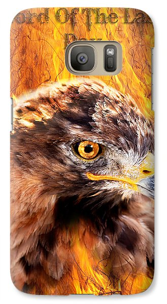 Galaxy Case featuring the photograph Lord Of The Last Day by Yngve Alexandersson