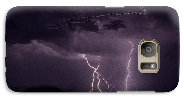 Galaxy Case featuring the photograph Lordsburg New Mexico by J L Woody Wooden
