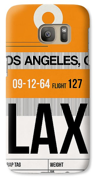 Los Angeles Galaxy S7 Case - Los Angeles Luggage Poster 2 by Naxart Studio