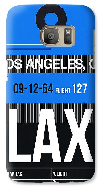 Los Angeles Galaxy S7 Case - Los Angeles Luggage Poster 3 by Naxart Studio