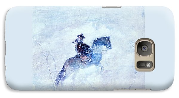 Galaxy Case featuring the painting Lost And Found by Rob Corsetti