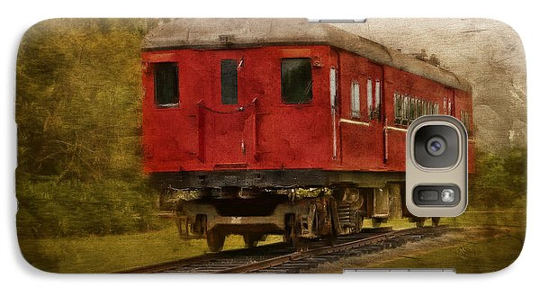 Galaxy Case featuring the photograph Lost Carriage 01 by Kevin Chippindall