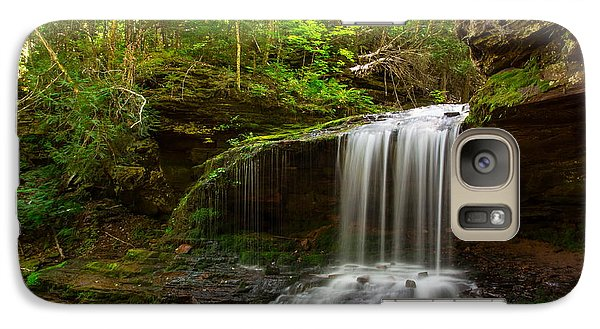Galaxy Case featuring the photograph Lost Creek Falls by Kelly Marquardt