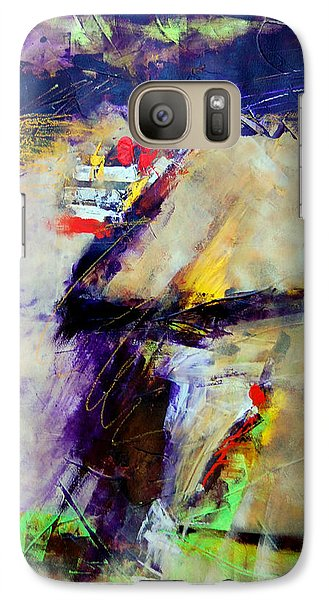 Galaxy Case featuring the painting Lost Horizons by Ron Stephens
