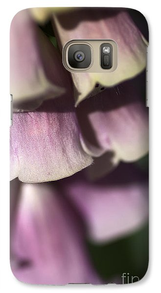 Galaxy Case featuring the photograph Lost In A Foxglove by Joy Watson
