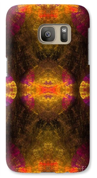 Galaxy Case featuring the digital art Lost In Colors by Hanza Turgul