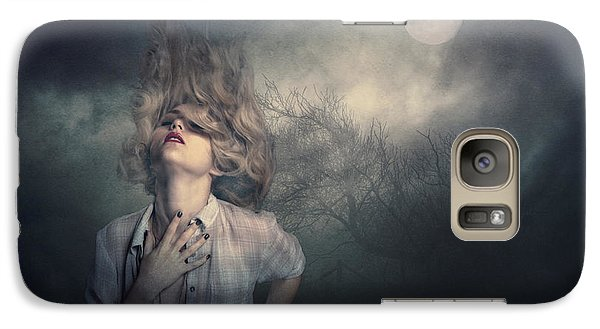 Galaxy Case featuring the photograph Lost In The Wind by Brian Tarr