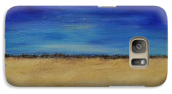 Galaxy Case featuring the painting Lost In Thought by Lori Jacobus-Crawford
