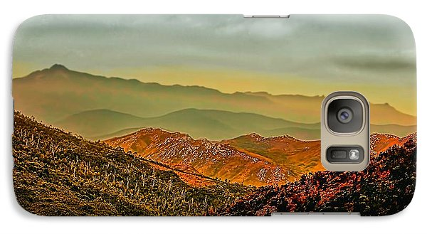 Galaxy Case featuring the photograph Lost In Time by Wallaroo Images