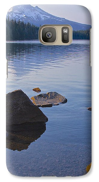 Galaxy Case featuring the photograph Lost Lake Morning 81014 by Todd Kreuter