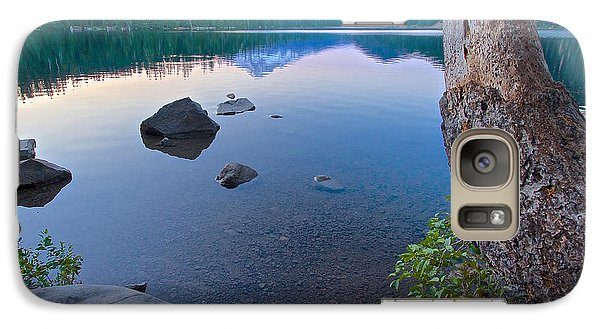 Galaxy Case featuring the photograph Lost Lake Morning 81014b by Todd Kreuter