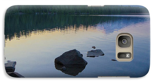 Galaxy Case featuring the photograph Lost Lake Morning 81014c by Todd Kreuter