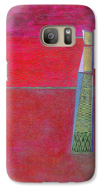 Galaxy Case featuring the drawing . by James Lanigan Thompson MFA