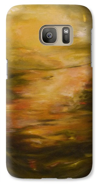 Galaxy Case featuring the painting Lost by Nadine Dennis