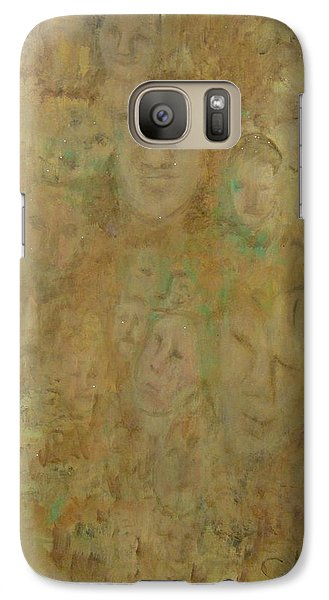 Galaxy Case featuring the painting Lost Or Forgotten by Catherine Hamill