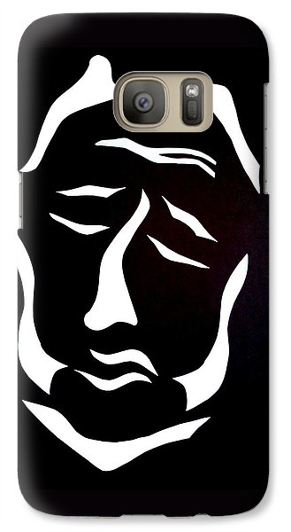 Galaxy Case featuring the digital art Lost Soul by Delin Colon