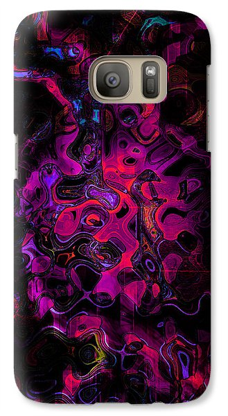 Galaxy Case featuring the photograph Lost Souls by Martina  Rathgens