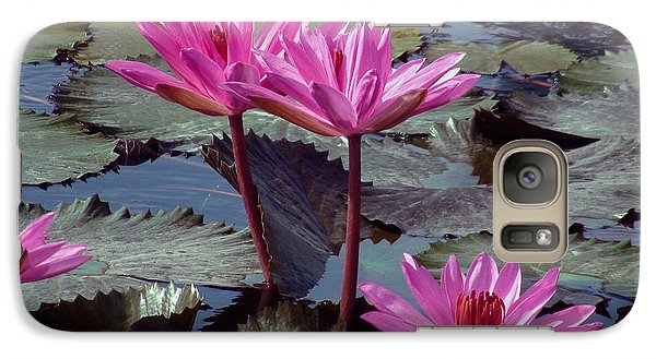 Galaxy Case featuring the photograph Lotus Flower by Sergey Lukashin